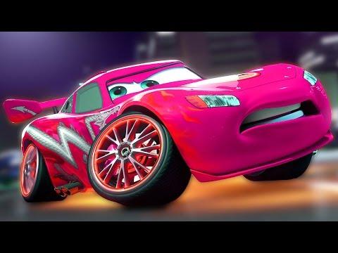 Тачки #3 - игровой мультик про Молнию Маквина тачки гонки для детей про машинки Lightning McQueen