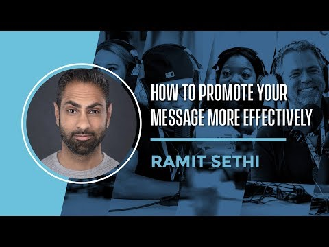 How to Promote Your Message More with Ramit Sethi ⋆ [FinCon]