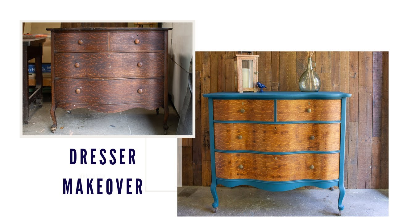 Dresser Makeover   How to Get the Musty Smell Out of Old Furniture