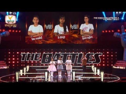 លី & ហ្សា & ការ - in Love With The Monster (The Battles Week 1 | The Voice Kids Cambodia Season 2)