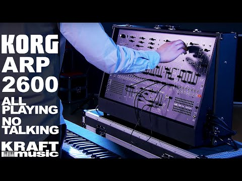 Korg ARP 2600 FS Synthesizer - All Playing, No Talking!