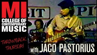 Jaco Pastorius - Throwback Thursday from the MI Vault