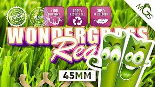 Vidéo: Gazon synthétique Wondergrass 45mm 30€ TTC/M² livré