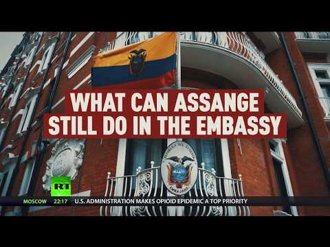 What CAN Assange still do in Ecuador embassy after new bans?