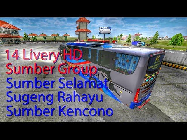 Berbagi Livery Bussid || Sumber Grup HD