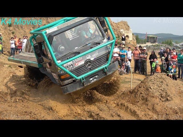 8x8 Mercedes-Benz Truck in Truck Trial   Oberottendorf, Germany 2018   participant no. 503