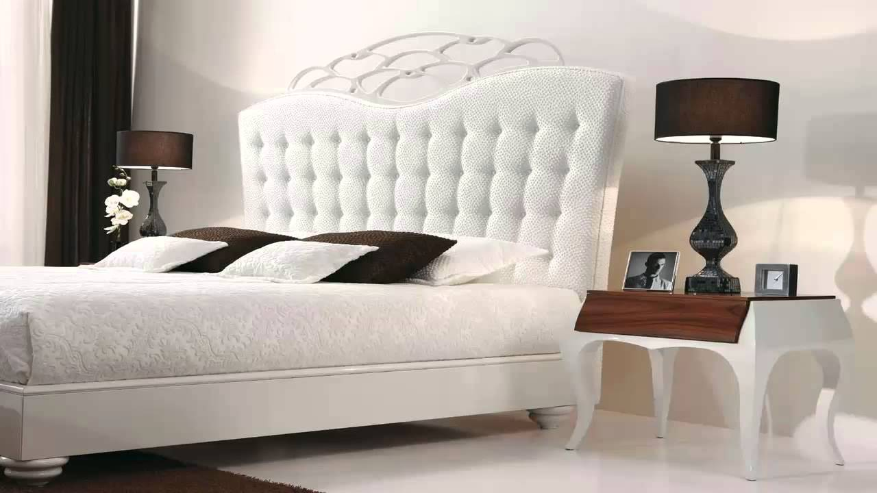 تصميم غرف نوم بيضاء