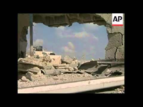 Aftermath of Israeli attack in northern Gaza strip