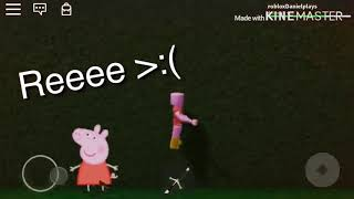 Peppa pig in Roblox (I think this is my second roblox vid