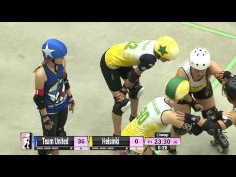 Game 15: Team United Women's Roller Derby v Helsinki Roller Derbz