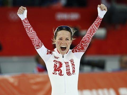 Первая медаль Олимпийских игр 2014 РОССИИ - Ольга ГРАФ бронза