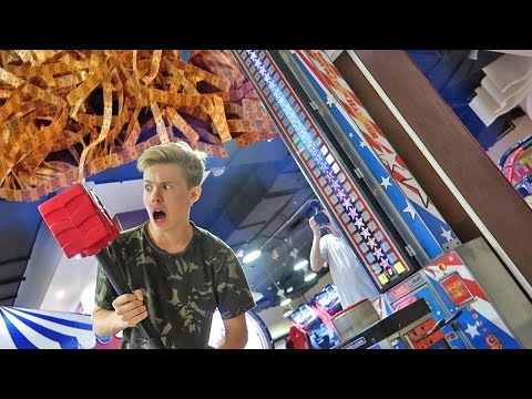 WINNING THE HARDEST ARCADE GAMES!