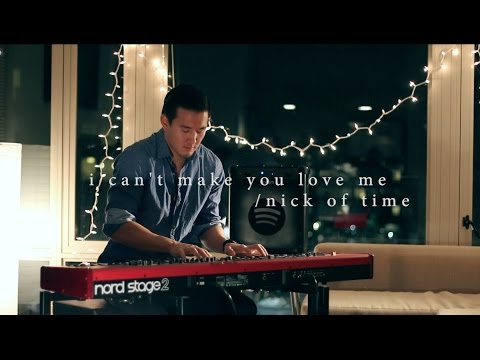 ☺ I Can't Make You Love Me  Nick of Time  Terry Chen