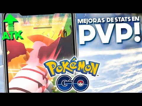 COMO FUNCIONAN LAS MEJORAS ESTADISTICAS EN PVP?! | 1074 | POKEMON GO thumbnail