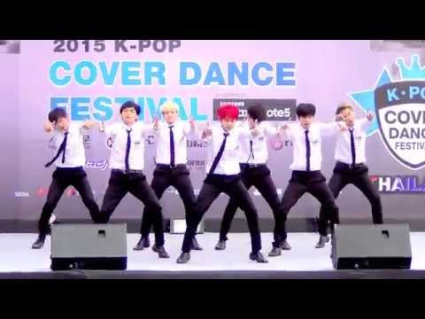 150905 Exx Boys cover BTS - Danger + Dope @Thailand 2015 K-POP Cover Dance Festival