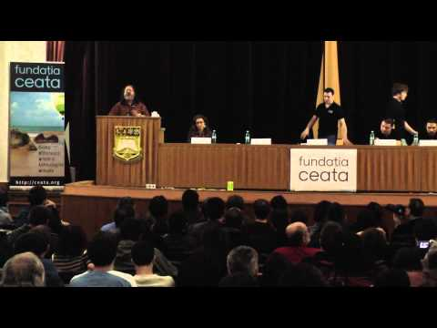 "Richard Stallman - ""Free software and your freedom"" at the launch of Fundația Ceata - part 1"