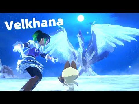 First Encounter Velkhana Fight - Monster Hunter Stories 2  