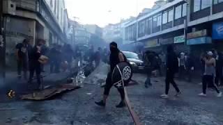 SAQUEOS EN CHILE - VALPARAISO - ZONA DE GUERRA