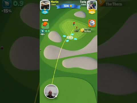 Martin Draper Chip in Golf Clash - 2017-10-29