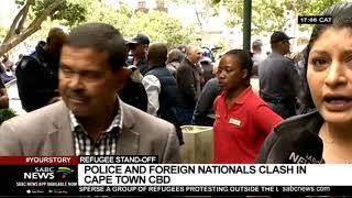 Update on Cape Town protests: Vanessa Poonah