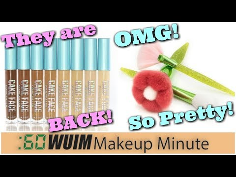 Cake Face Concealers BACK In Stock! MODA Bouquet Set is Coming!   Makeup Minute