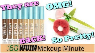 Cake Face Concealers BACK In Stock! MODA Bouquet Set is Coming! | Makeup Minute