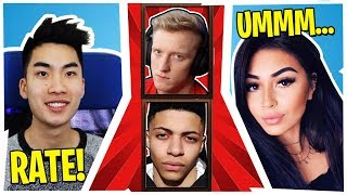 RICEGUM MAKES HOT GIRL RATE TFUE AND MYTH!