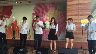 2016年8月20日に福井西武で行われた Summer Street Live の様子です。 福井大学アカペラサークルふれんど 福井 アカペラ.