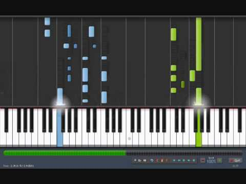 "SKYFALL - Adele [piano tutorial by ""genper2009""]"