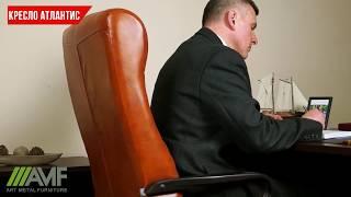 видео Перетяжка и обивка офисных и компьютерных кресел недорого