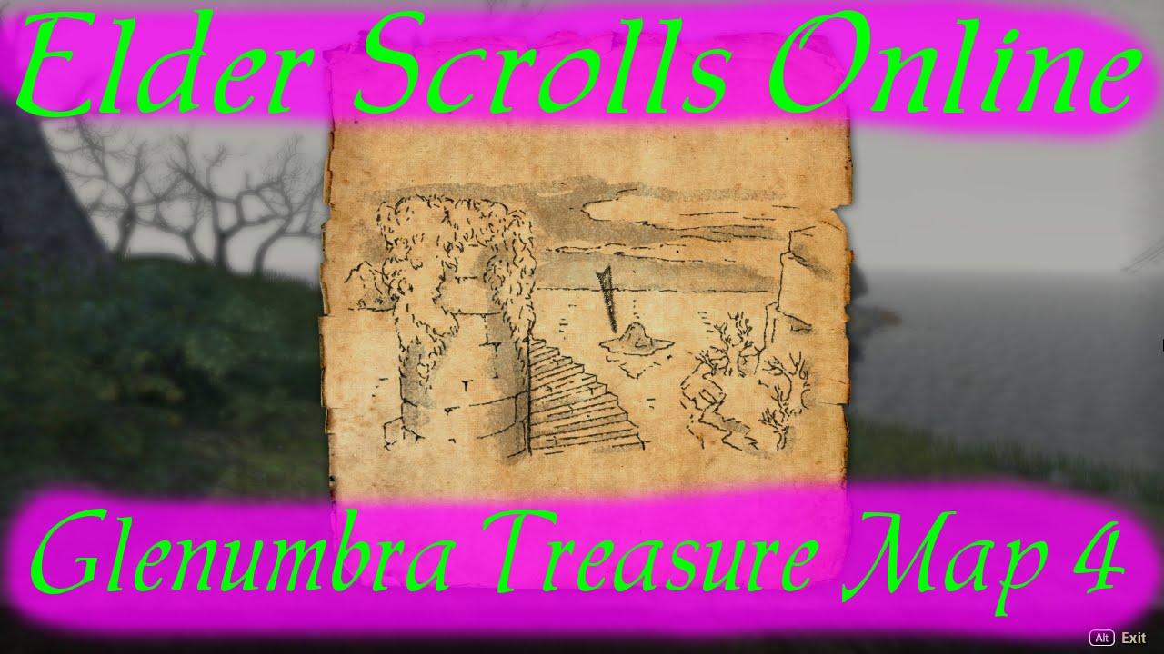 Glenumbra Treasure Map 4 [Elder Scrolls Online]