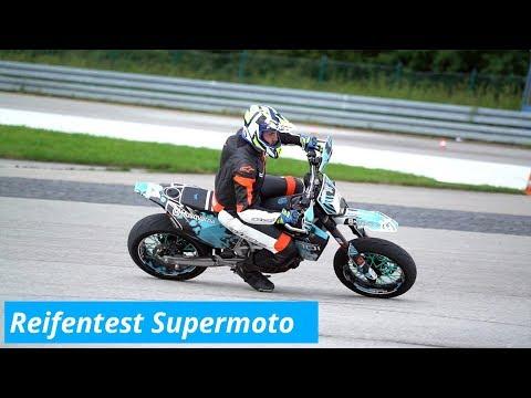 MotorradreifenDirekt.de Reifentest Supermoto Mit Huskytiim Und Leoridin