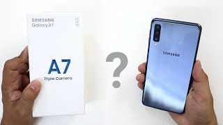 [Hindi] Samsung Galaxy A7 Unboxing And Review I A7 2018