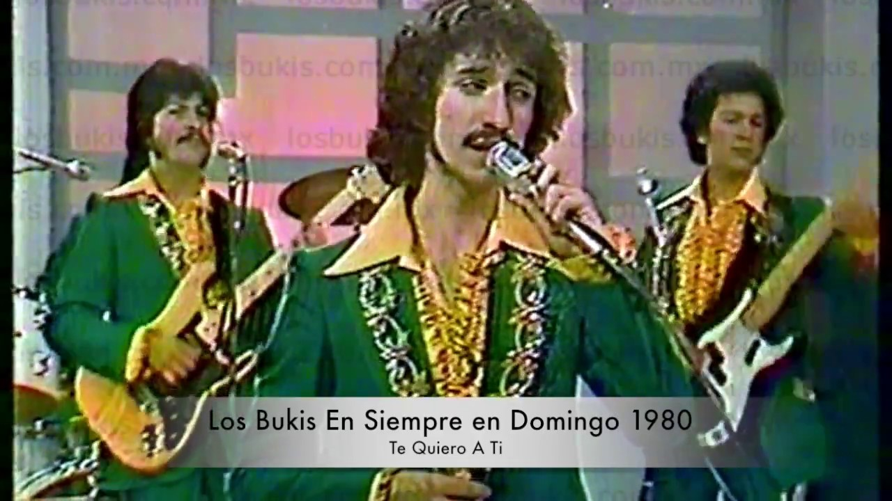 Los Bukis En Siempre En Domingo1980 Youtube Ver las letras de los bukis y escuchar navidad sin ti, adios querida esposa, me volvi a acordar de ti, como me haces falta y más canciones! los bukis en siempre en domingo1980
