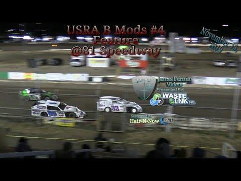 USRA B Mods #4, Feature, 81 Speedway, 11/15/19
