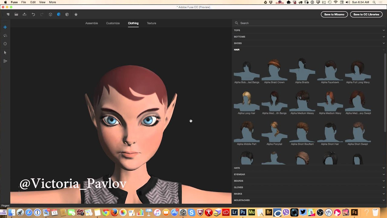 How to create 3d characters in the new adobe fuse cc youtube for 3d building creator