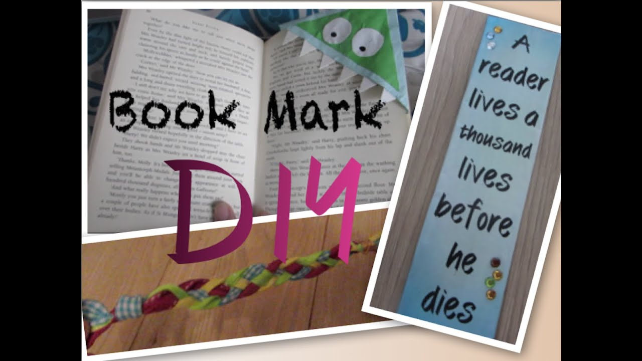 Diy bookmark ideas i cheap and easy ideas for fun How to make a simple bookmark