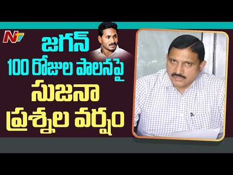 Bjp Mp Sujana Chowdary Controversial Comments On Ap Cm Ys