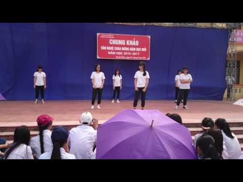 Nhảy hiện đại 11A4 K10 trường THPT Nguyễn Siêu