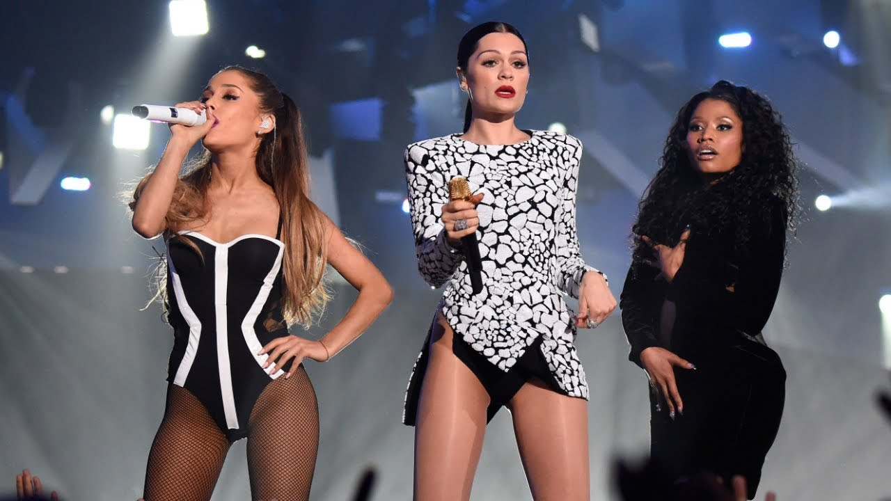 Download Jessie J, Ariana Grande, Nicki Minaj - BANG BANG | VMA 2014 HD