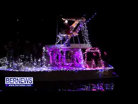 Bermuda Boat Parade, Dec 7 2013