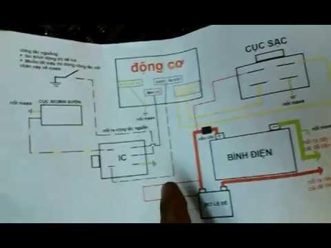 Hướng Dẫn đấu Nối Dây điện Cho động Cơ Xe Máy Honda(sơ đồ, Cục IC, Cục Mobin Sườn, Cục Sạc...