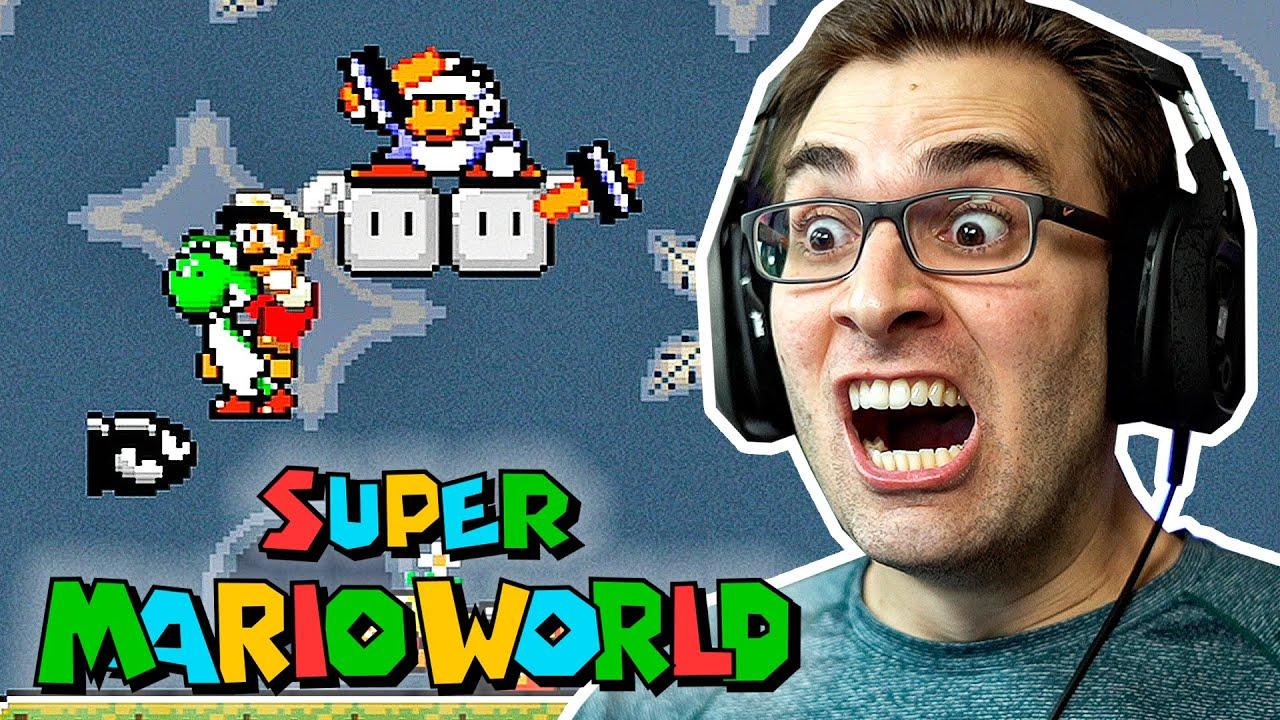 SUPER MARIO WORLD #4 - Sofri MUITO na STAR ROAD!?