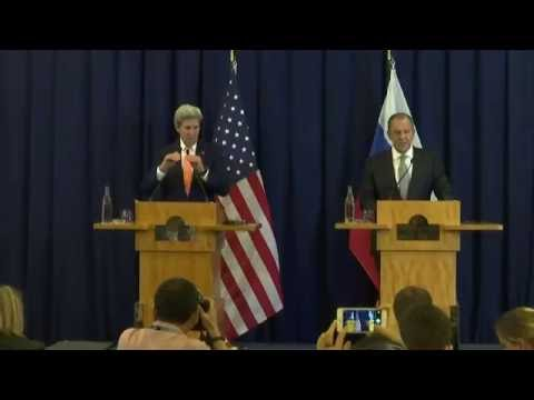 Remarks on United States and Russia Plan Toward a Negotiated Peace in Syria