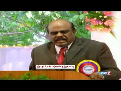 Madras High Court judge warns CJ of contempt of court | Tamil Nadu | News7 Tamil
