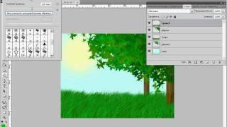 Photoshop для детей. Солнечная опушка. Часть 3 (13/40)