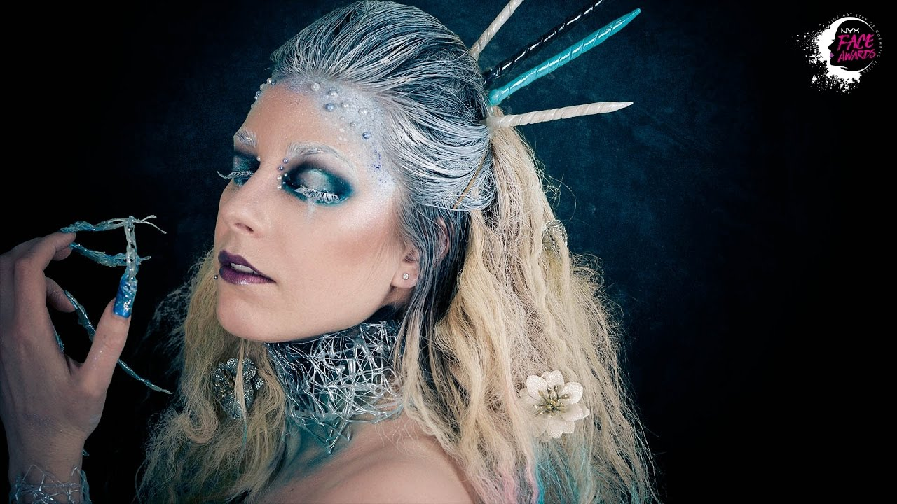 Nyx Face Awards France 2017  Frozen