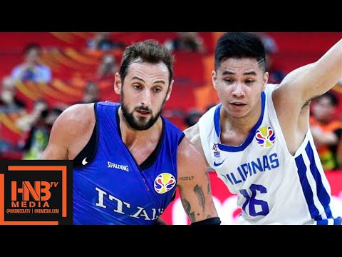 Philippines vs Italy - Full Game Highlights   FIBA World Cup 2019