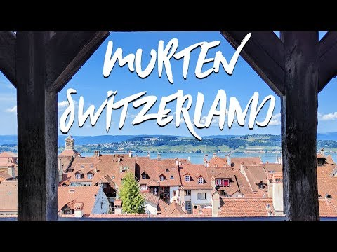 Come Explore Murten Switzerland With Us!