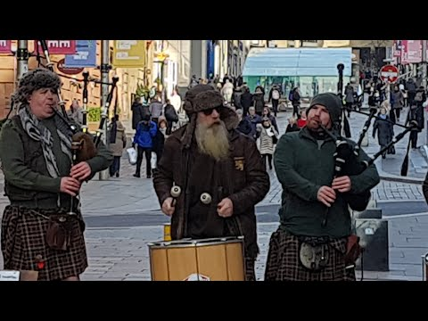 Clanadonia Scottish Street Music